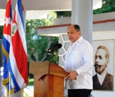 Presidente de Costa Rica destaca legado de Antonio Maceo