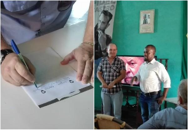 Solidaridad multiplicada en Camagüey por la libertad de Lula (+Audio y Fotos)