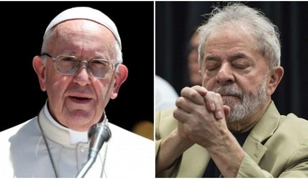 El papa Francisco envía mensaje a Lula