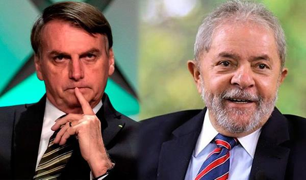 Pronósticos indican que Lula vencería a Bolsonaro en elecciones de 2022 en Brasil