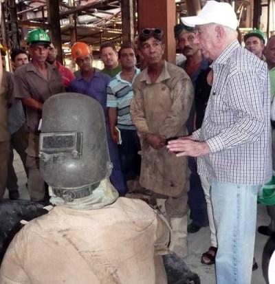 Chequean Machado Ventura y Valdés Mesa desarrollo de la zafra azucarera en Camagüey