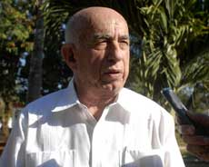 Recibe vicepresidente cubano a delegación salvadoreña del Frente Farabundo Martí