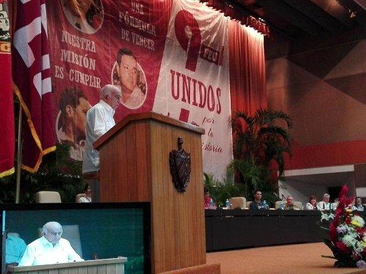 IX Congreso de Federación Estudiantil Universitaria reverenció ideario de Fidel