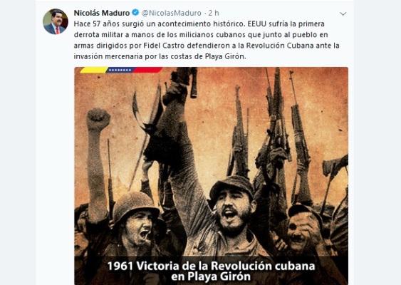 Evocan en Venezuela primera derrota militar de EE.UU. en América