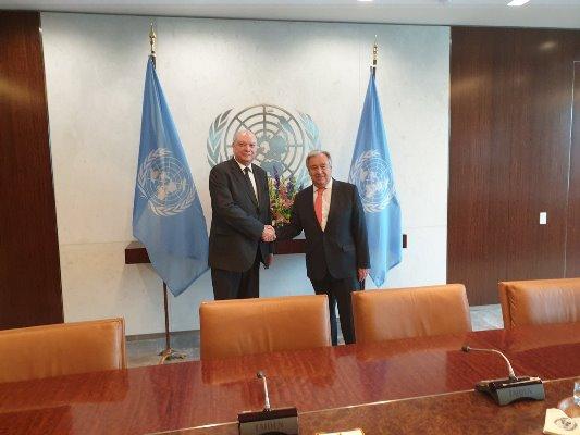 Expresa Cuba voluntad de fortalecer lazos con Naciones Unidas