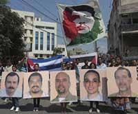 Voces del mundo reclaman libertad para antiterroristas cubanos