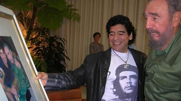Presidente cubano envía condolencias a su par argentino por fallecimiento de Maradona