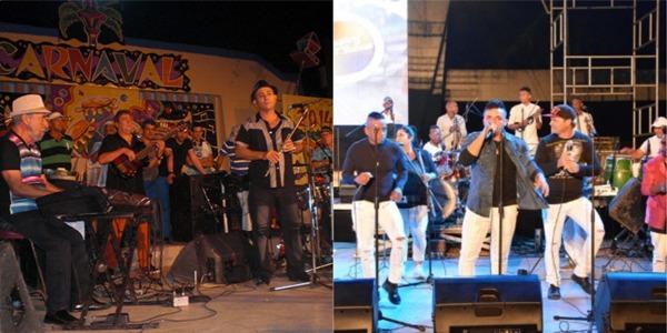 Orchestres Maravilla de Floride et original de Manzanillo de concert camagüeyano