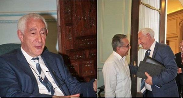 Vicecanciller cubano recibe al empresario británico lord Triesman