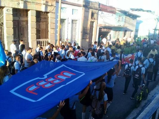 Camagüeyanos rememoran primera marcha del pueblo combatiente