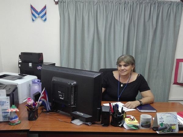 María de los Ángeles, una camagüeyana comprometida con su profesión