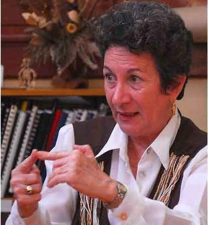 Dra. Martha Prieto, vicepresidenta de la Sociedad Cubana de Derecho Constitucional.