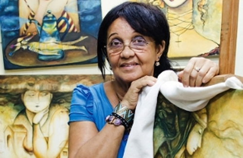 Artista de la plástica de Camagüey participa en feria de arte londinense