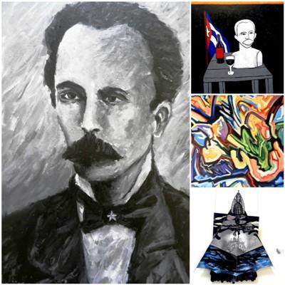 En Camagüey, homenaje de las Artes Plásticas a Martí y la Revolución cubana