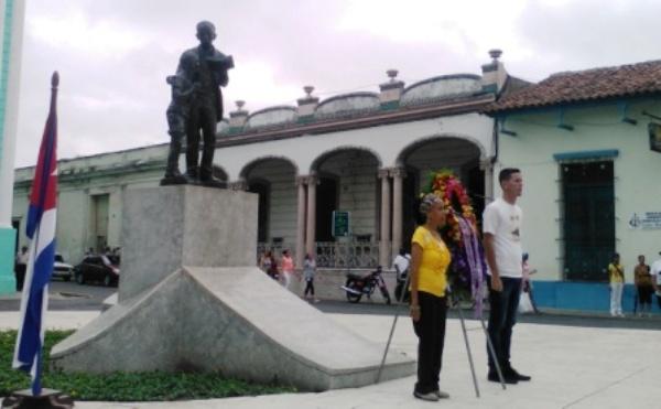 Homenaje en Camagüey al Héroe Nacional de Cuba