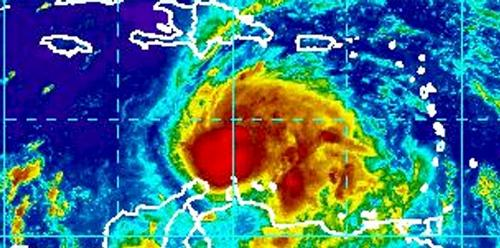 Force Two Hurricane Matthew Threatens Central Caribbean