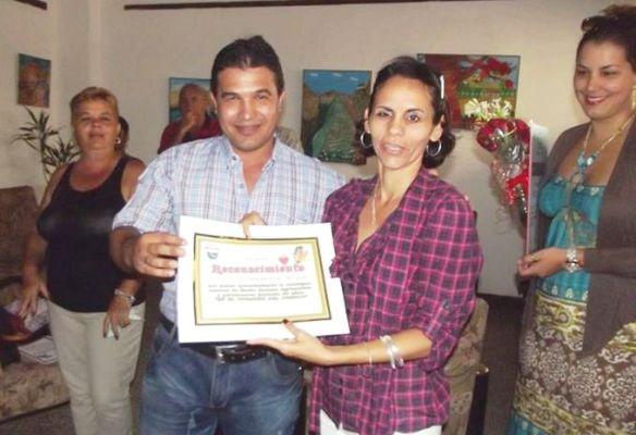 Mayra Beatriz Ronda, directora del programa radial Meridiano.