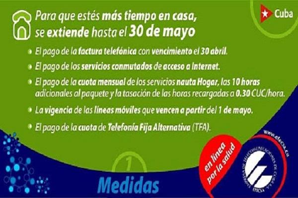 Cuba: ETECSA applies new measures and payment rates