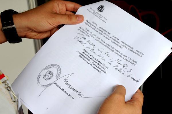 Mensaje de Maduro al VII Congreso del PCC reafirma hermandad con Cuba