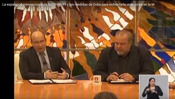 Mesa Redonda: Expansión internacional del COVID-19 y medidas de Cuba para enfrentarlo (+ Transmisión en vivo)