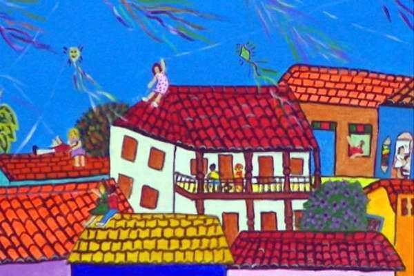 Exposición de arte naif todo septiembre en la Galería Taller Larios