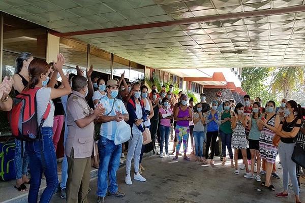 Camagüey: en casa trabajadores de la Salud que atendieron primeros casos de Covid-19