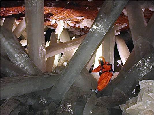 Reviven a organismos inactivos durante miles de años en famosa cueva mexicana