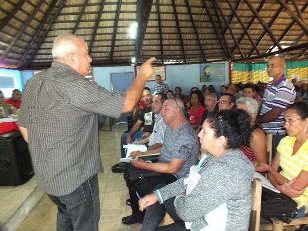 Evalúan en Minas, Camagüey, acciones para incrementar producción de alimentos (+Fotos)
