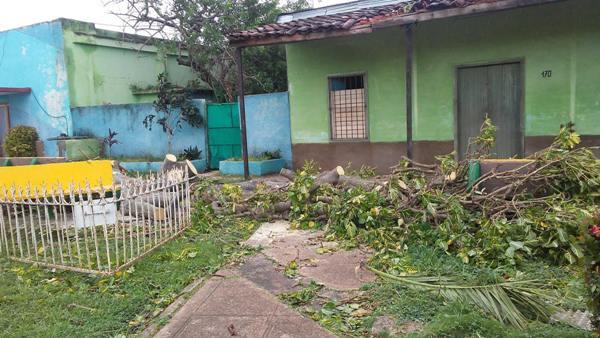 Minas sufrió los embates del poderoso huracán Irma (+ Audio y Fotos)