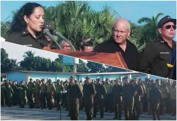 Celebran en Camagüey el aniversario 58 del Ministerio del Interior (+Fotos)