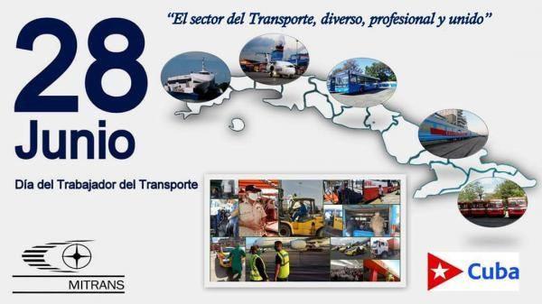 Ministro del Transporte felicita a los trabajadores del sector por su día