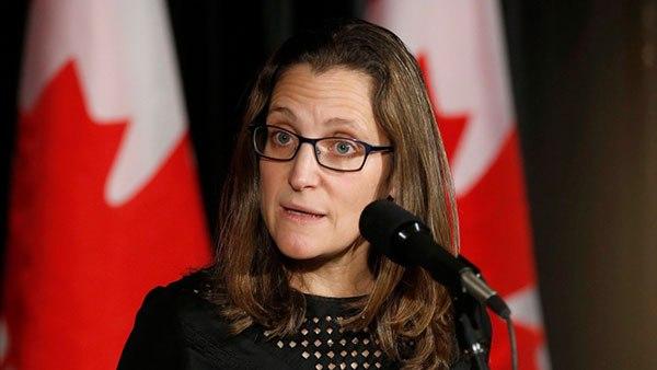Canciller de Canadá cancela participación en reunión de la OTAN