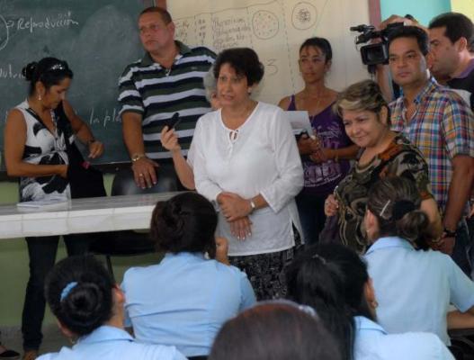 Transformaciones educacionales en Cuba avanzan más en Enseñanza Técnica