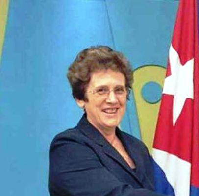 Destaca ministra cubana resultados de visita a Namibia