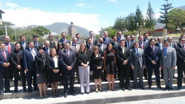 Ministra cubana de Justicia asiste a foro iberoamericano en Ecuador