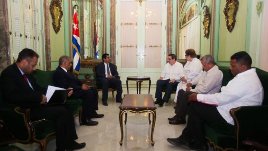 Cuban chancellor received Yemen's Deputy Minister for Political Affairs