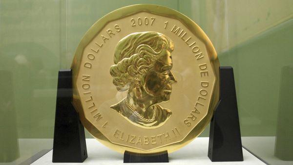 Roban gran moneda de oro en museo alemán