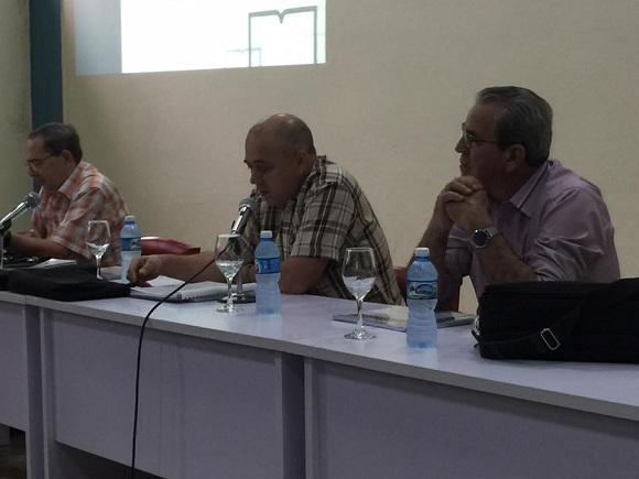 Morales Ojeda destaca en Camagüey importancia de alianza universidad-centros socioeconómicos (+ Audio)