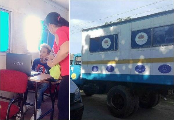 Joven Club de Computación móvil lleva propuestas recreativas a comunidades del Camagüey
