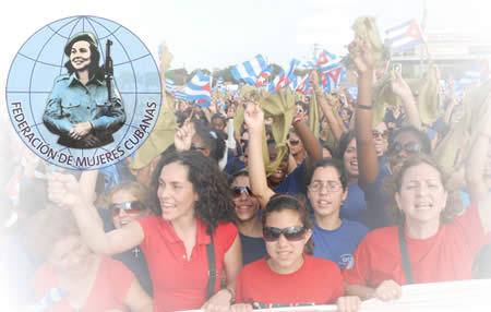 Camagüeyanas en proceso asambleario hacia Congreso de la Federación de Mujeres Cubanas