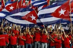 Héroes y pueblo este 1º de mayo por el Socialismo en Cuba