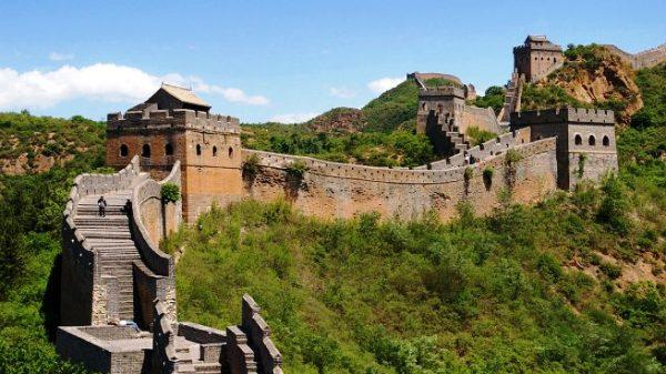 Supervisarán la Gran Muralla china con inteligencia artificial y drones
