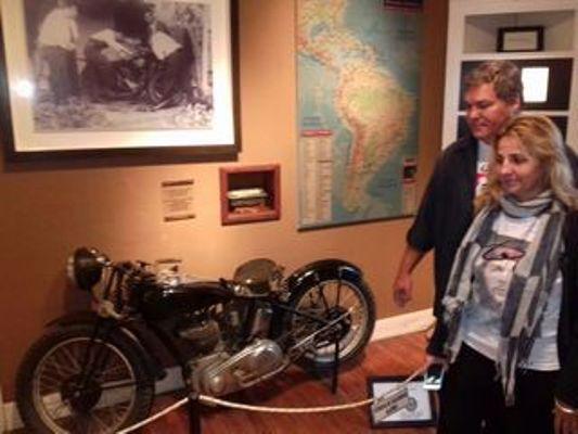 Héroe cubano visitó Museo del Che en Argentina