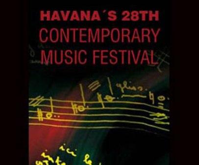 Cuba abre sus puertas al Festival de música contemporánea