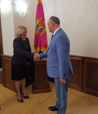 Viceministra cubana de Relaciones Exteriores intercambió con máximas autoridades de Moldova (+ Tuit y fotos)