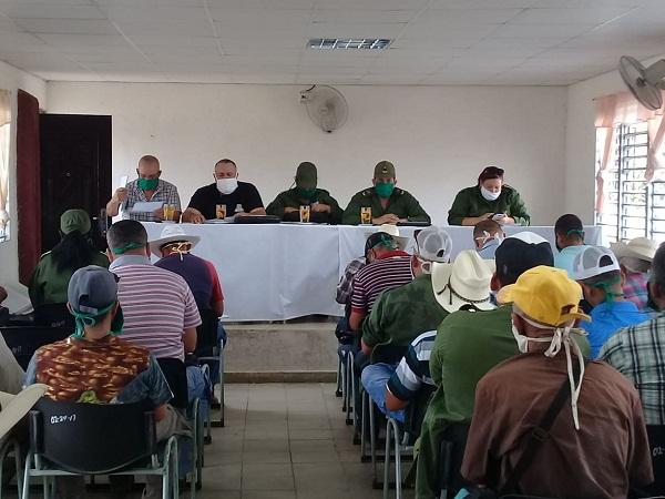Municipio camagüeyano de Najasa convocado a incrementar producción de alimentos