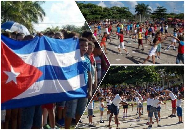 En Najasa también festejan niños y jóvenes camagüeyanos