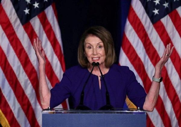 Nancy Pelosi preside la Cámara Baja de EE.UU.