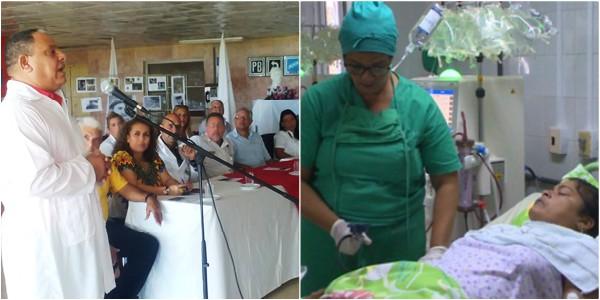 Recuerdan a Fidel Castro en Sala de Nefrología de hospital de Nuevitas