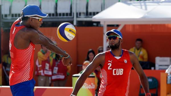 Dupla cubana a cuartos de final en Circuito Mundial de Voleibol de playa